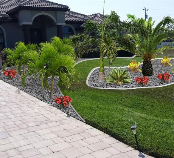 Landscape Design Rendering